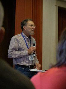 Craig Blacklock presenting