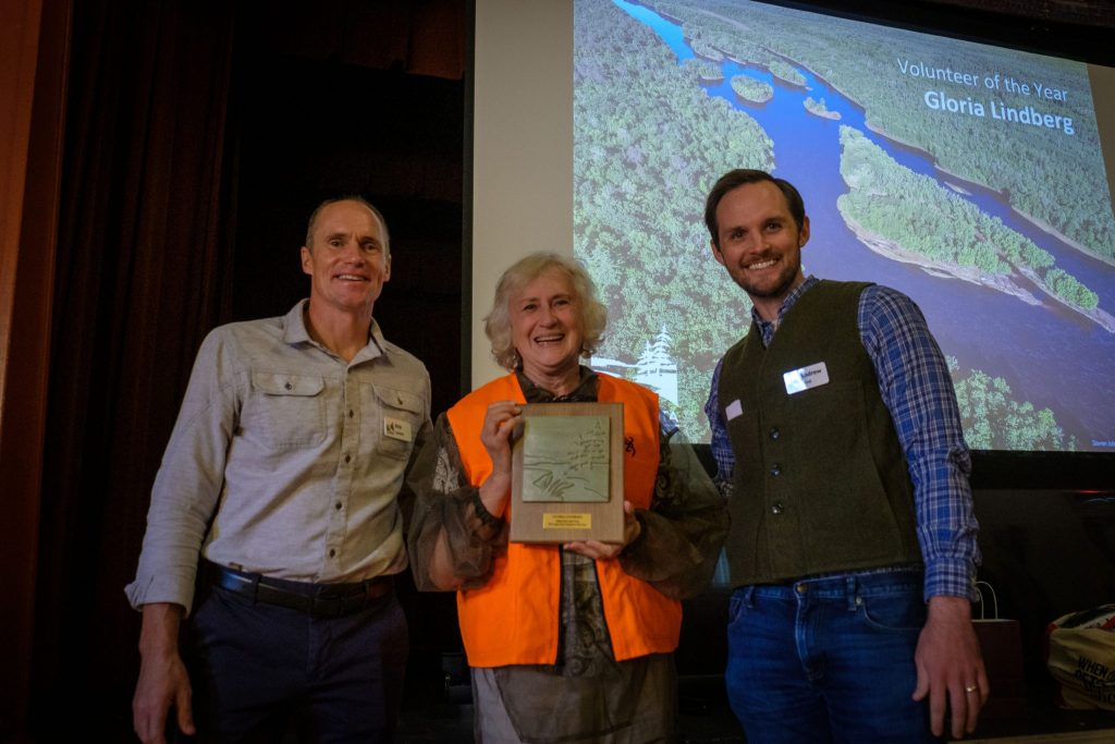 Gloria Lindberg, 2019 Volunteer of the Year