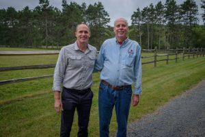 Kris Larson and Special Honoree Steve DeLapp