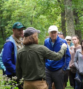 Mark lading a discussion about buckthorn