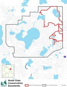 North Oaks area map