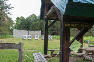 Camp Olson archery range