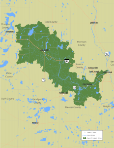 Map of the Sauk River Watershed